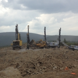 Images Lac Alfred wind project