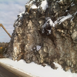 Images Stabilization of rock cuts